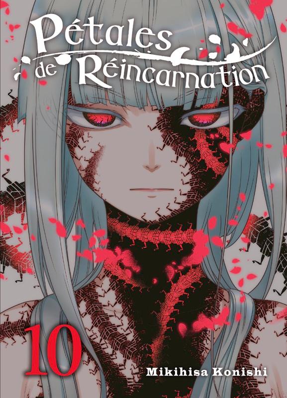 Pétales de réincarnation T10, manga chez Komikku éditions de Konishi