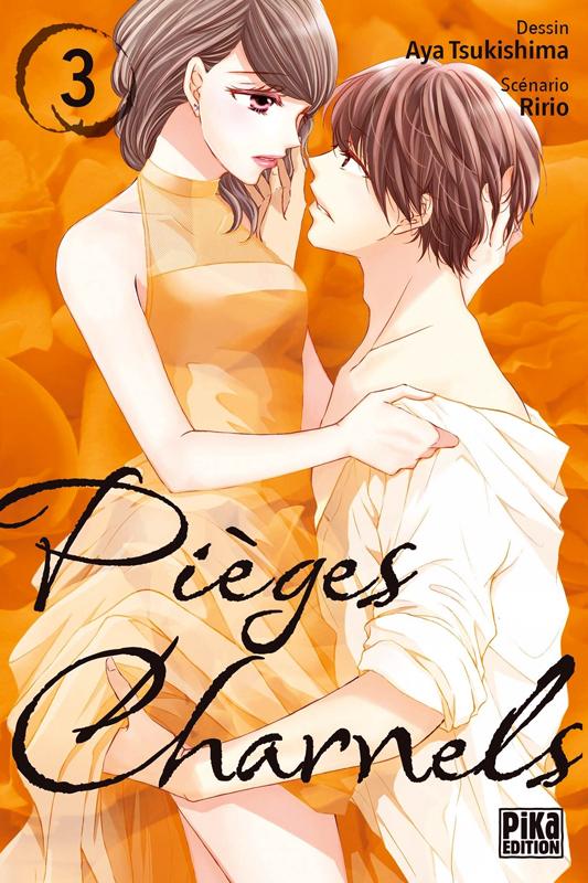 Pièges charnels T3, manga chez Pika de Ririo, Tsukishima