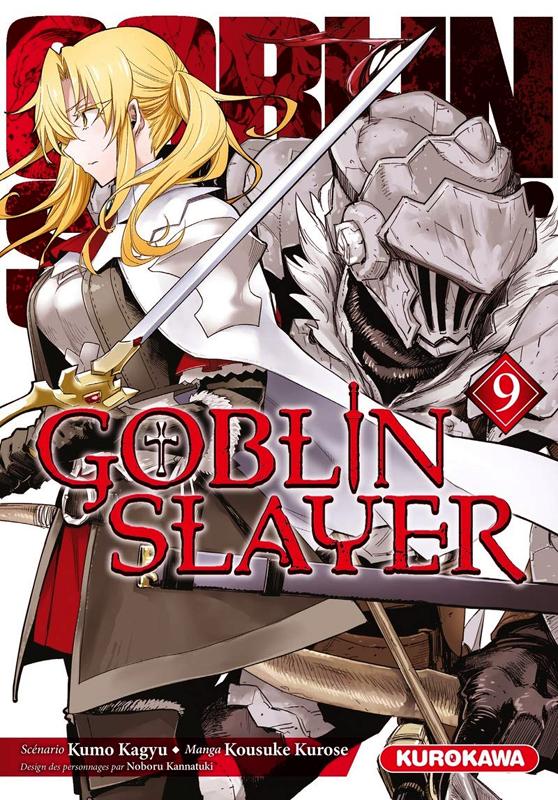 Goblin slayer T9, manga chez Kurokawa de Kagyu, Kurose