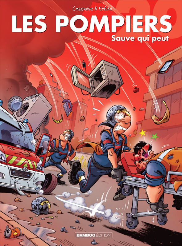 Les pompiers T20 : Sauve-qui-peut (0), bd chez Bamboo de Cazenove, Stédo