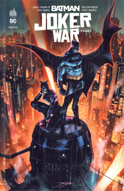 Batman Joker War T1 : Tome 1 (0), comics chez Urban Comics de Kennedy Johnson, Tamaki, Ayala, Tynion IV, Albuquerque, March, Jimenez, Pagulayan, Daniel, Morey, Bellaire, FCO Plascencia, Sanchez