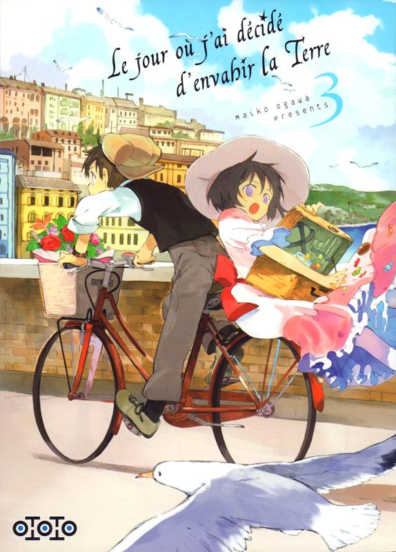 Le jour où j'ai décidé d'envahir la Terre T3, manga chez Ototo de Ogawa
