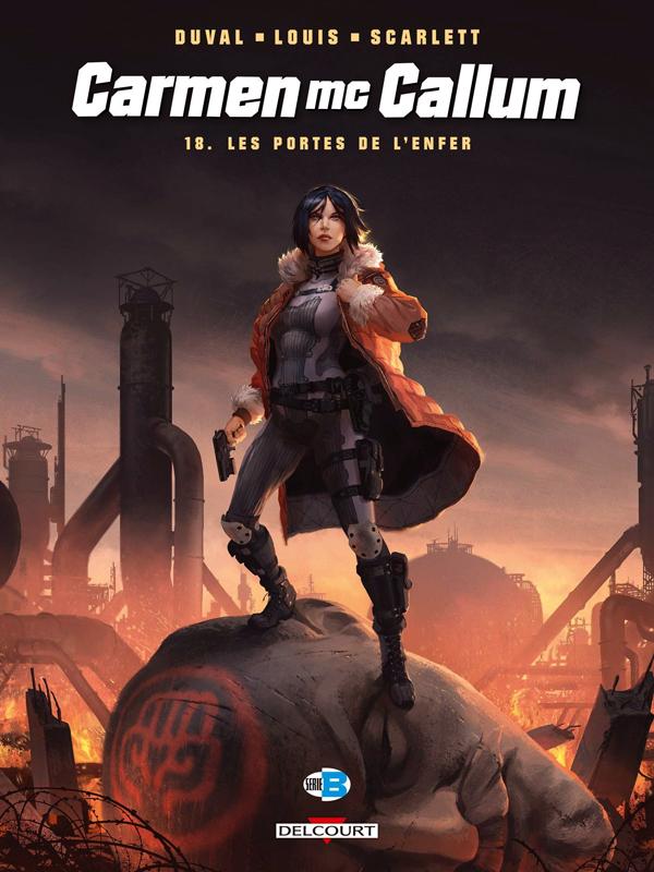 Carmen McCallum – cycle 6, T18 : Les Portes de l'enfer (0), bd chez Delcourt de Duval, Louis, Smulkowski, Siner
