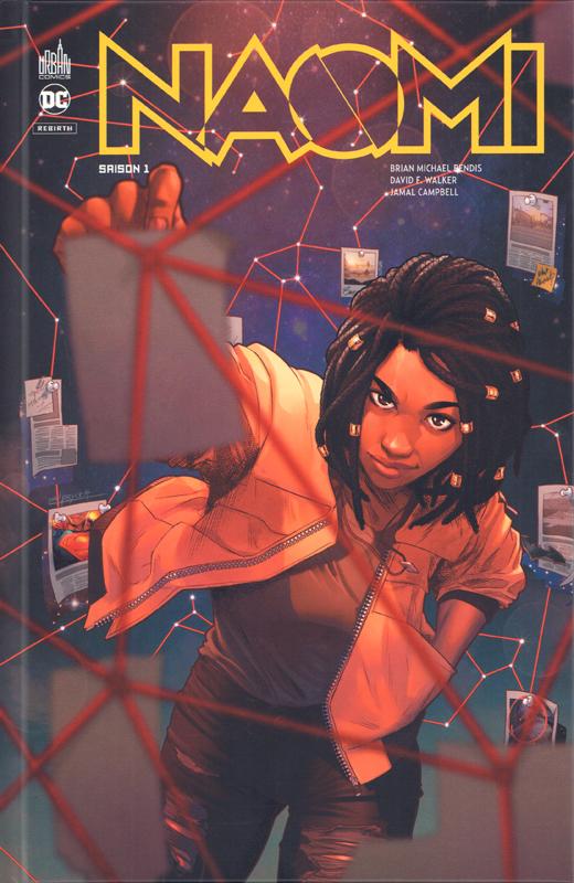 Naomi T1, comics chez Urban Comics de Walker, Bendis, Campbell