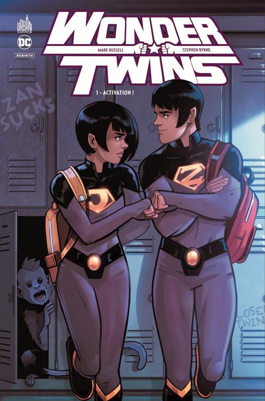 Wonder Twins  T1 : Activation ! (0), comics chez Urban Comics de Russel, Byrne
