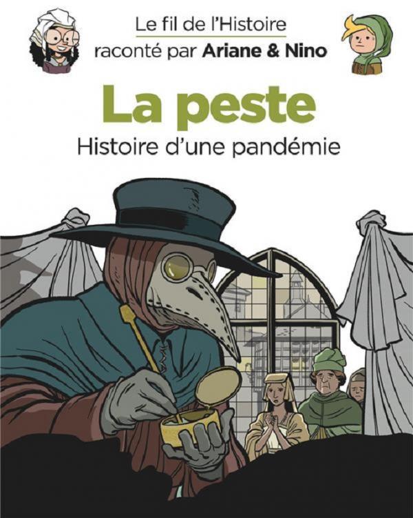 Le Fil de l'Histoire T17 : La peste (0), bd chez Dupuis de Erre, Savoia