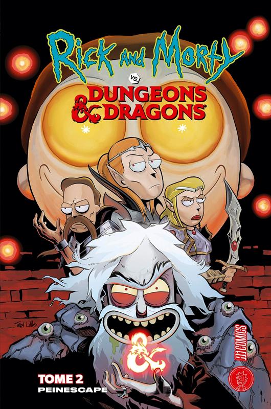 Rick and Morty Vs Dungeons & Dragons T2 : Peinescape (0), comics chez Hi Comics de Zub, Little, Ito