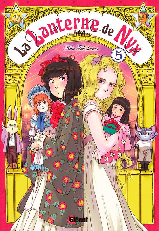 La lanterne de Nyx  T5, manga chez Glénat de Takahama