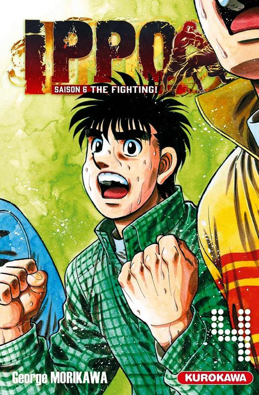 Ippo – Saison 6 - The fighting, T4, manga chez Kurokawa de Morikawa