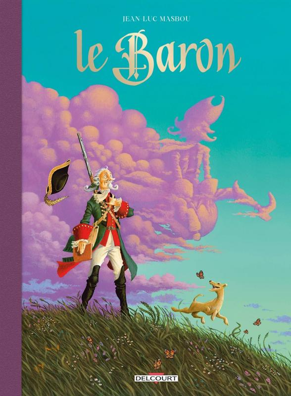 Le Baron, bd chez Delcourt de Masbou