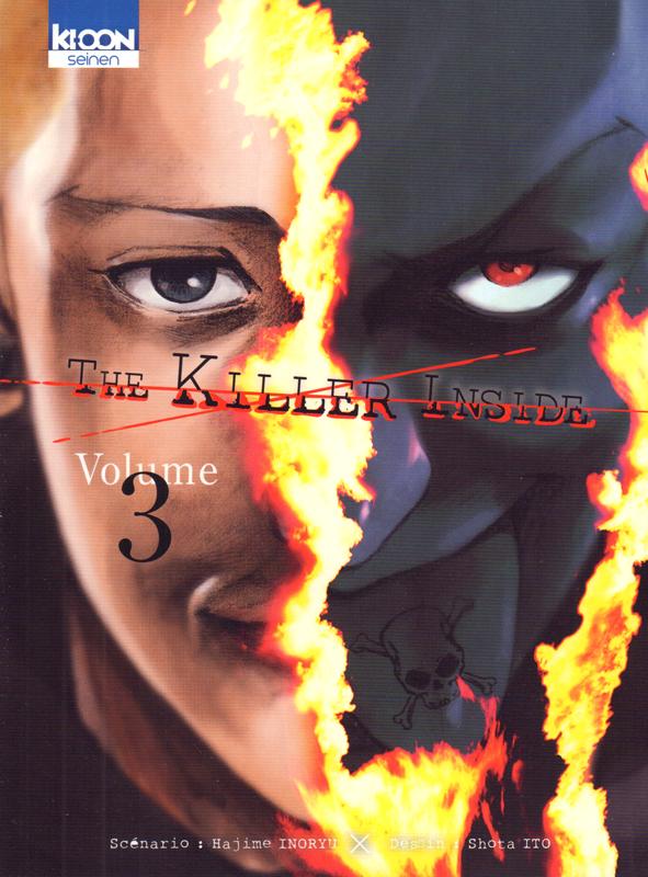 The killer inside T3, manga chez Ki-oon de Inoryu, Ito