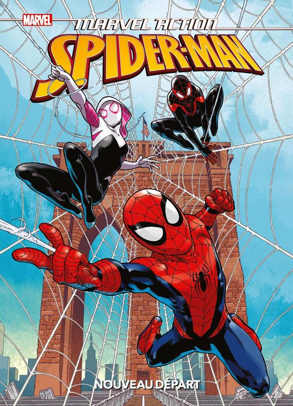 Marvel Action  : Spider-Man Nouveau départ (0), comics chez Panini Comics de Dawson, Cossio, Pattison