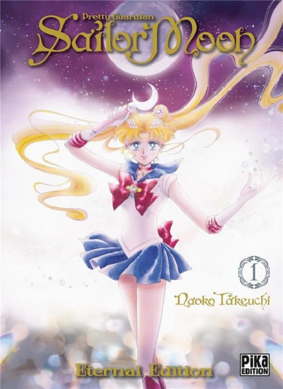 Sailor moon - Pretty guardian  – Eternal edition, T1, manga chez Pika de Takeuchi