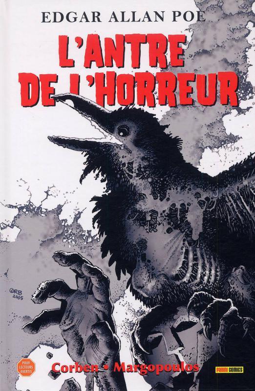 L'antre de l'horreur, comics chez Panini Comics de Margopoulos, Corben