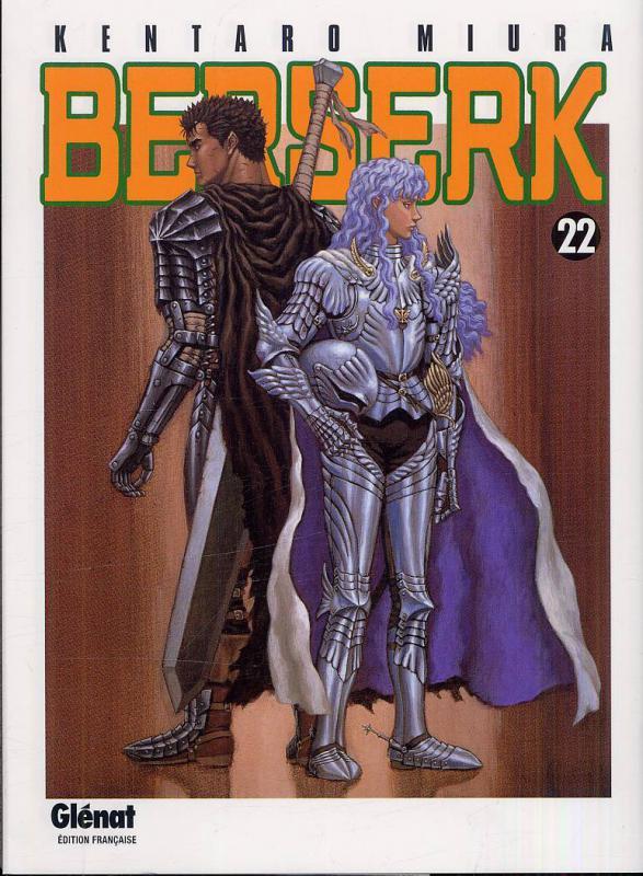 Berserk T22, manga chez Glénat de Miura