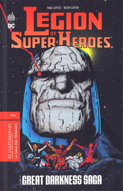 The Great Darkness Saga : La saga des ténèbres (0), comics chez Urban Comics de Levitz, Giffen, Bender, Broderick, d'Angelo, Gafford