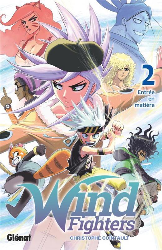 Wind fighters T2, manga chez Glénat de Cointault