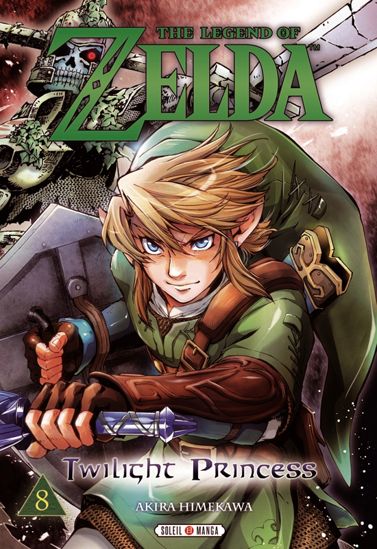 The legend of Zelda - Twilight princess T8, manga chez Soleil de Himekawa