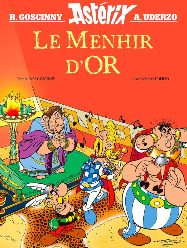 Astérix : Le menhir d'or (0), bd chez Albert René de Goscinny, Uderzo