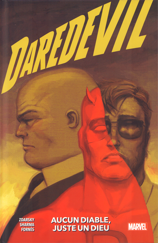 Daredevil T2 : Aucun diable, juste un dieu (0), comics chez Panini Comics de Zdarsky, Sharma, Fornès, Bellaire, Tartaglia, Tedesco
