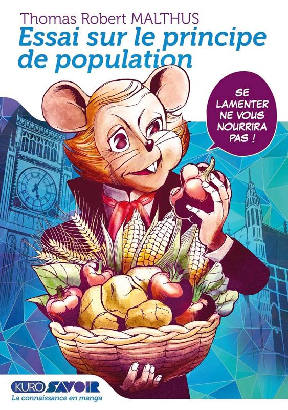Essai sur le principe de population, manga chez Kurokawa de Naha, Malthus