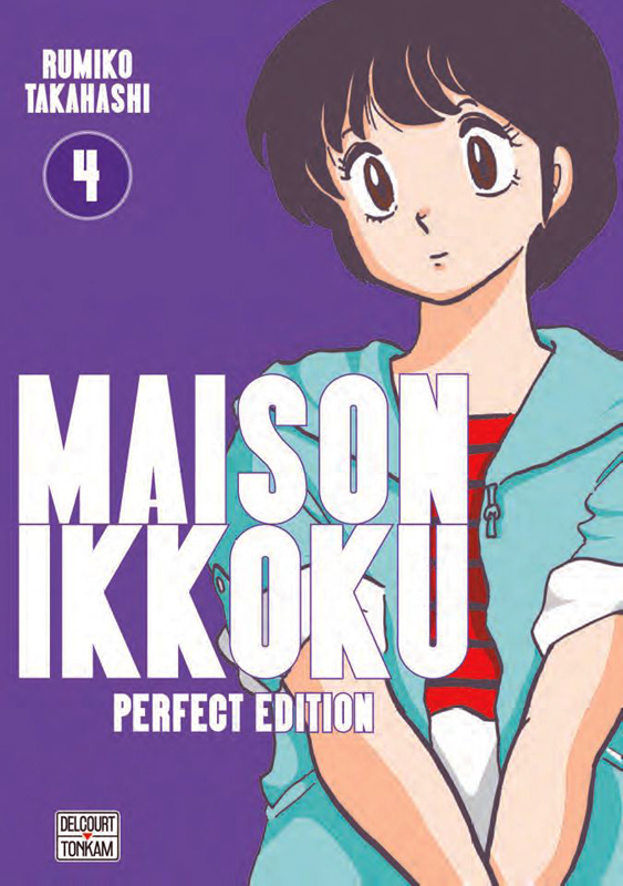 Maison Ikkoku T4, manga chez Delcourt Tonkam de Takahashi