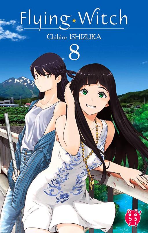 Flying witch  T8, manga chez Nobi Nobi! de Ishizuka