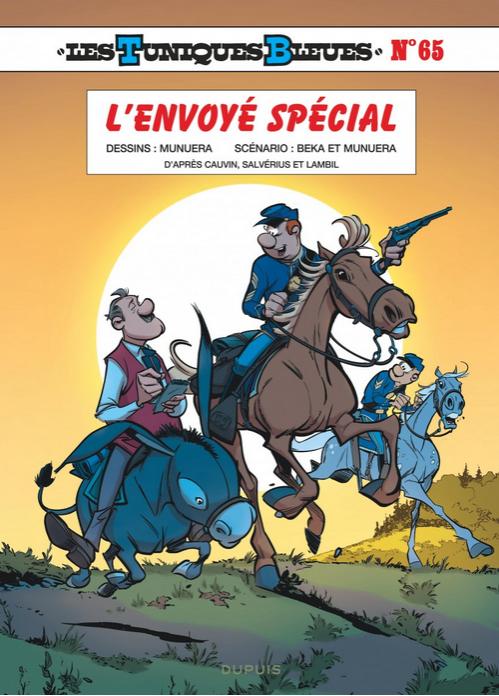 Les Tuniques bleues T65 : L'envoyé spécial (0), bd chez Dupuis de Munuera, Beka