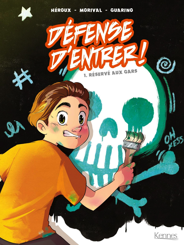 Défense d'entrer T1 : Réservé aux gars (0), bd chez Kennes éditions de Héroux, Morival, Guarino