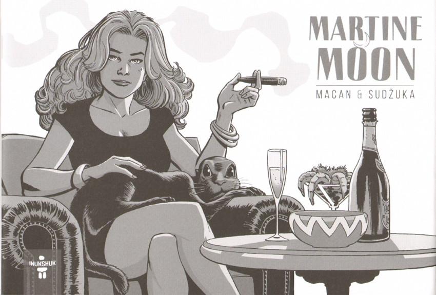 Martine Moon, comics chez Inukshuk Éditions de Macan, Sudzuka