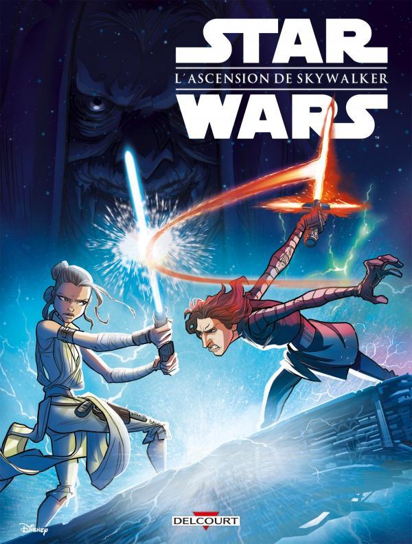 Star Wars - L'acension de Skywalker, comics chez Delcourt de Ferrari, Chimisso, Collectif