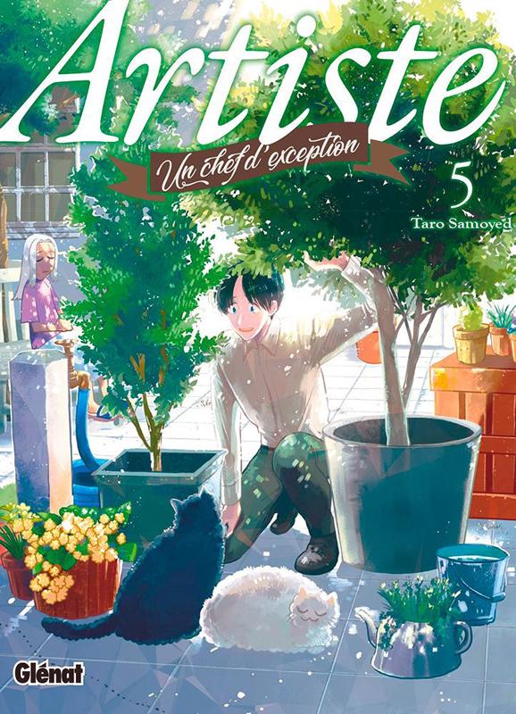 Artiste T5, manga chez Glénat de Samoyed