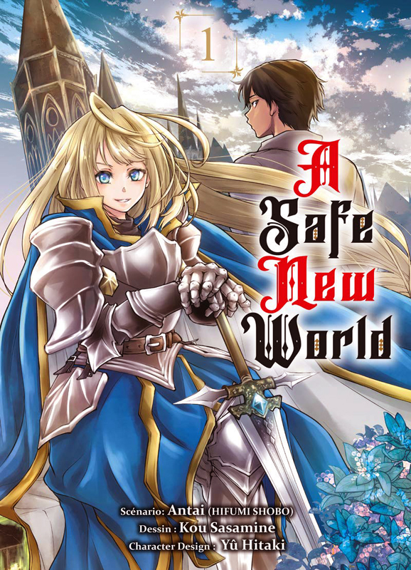 A safe new world T1, manga chez Komikku éditions de Antai, Sasamine