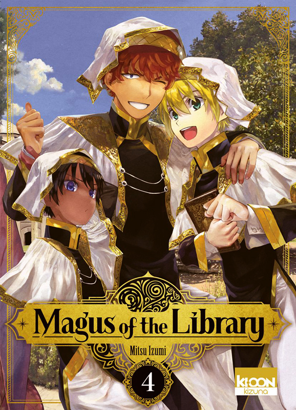 Magus of the library T4, manga chez Ki-oon de Izumi