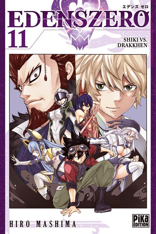 Edens zero T11, manga chez Pika de Mashima