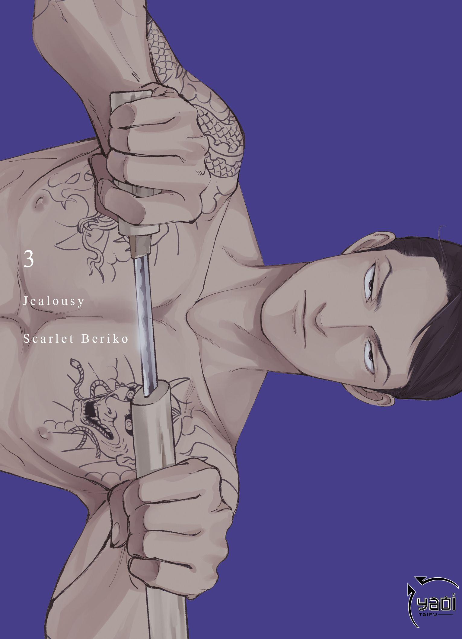 Jealousy  T3, manga chez Taïfu comics de Beriko