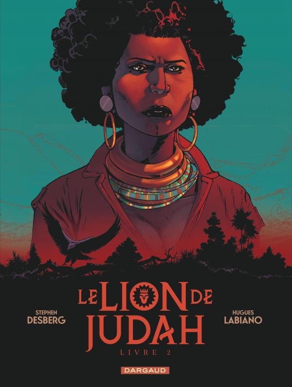 Le Lion de Judah T2, bd chez Dargaud de Desberg, Labiano