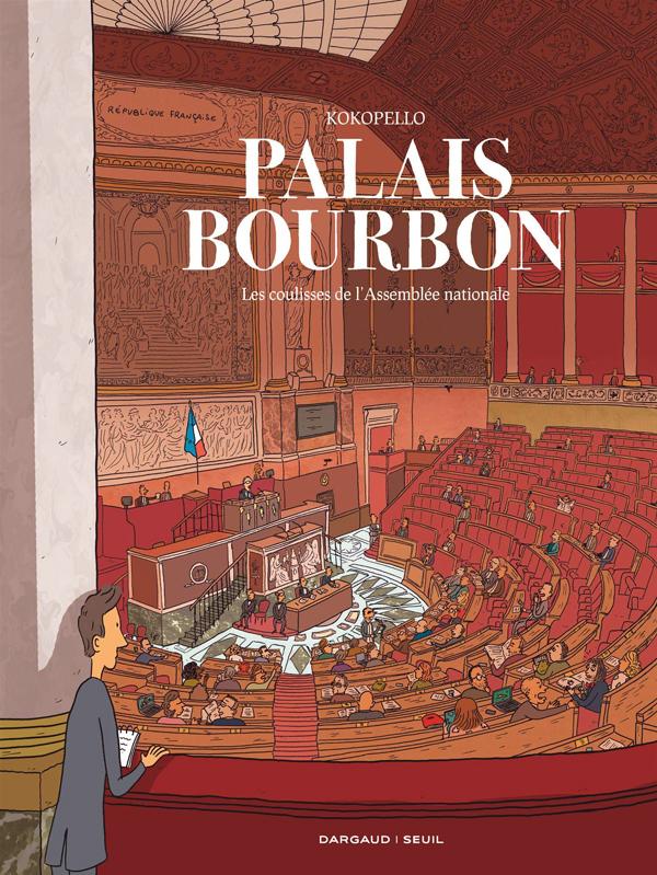 Palais Bourbon, bd chez Dargaud de Kokopello