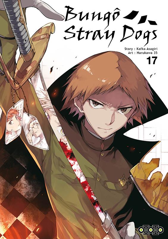 Bungô stray dogs T17, manga chez Ototo de Asagiri, Harukawa35