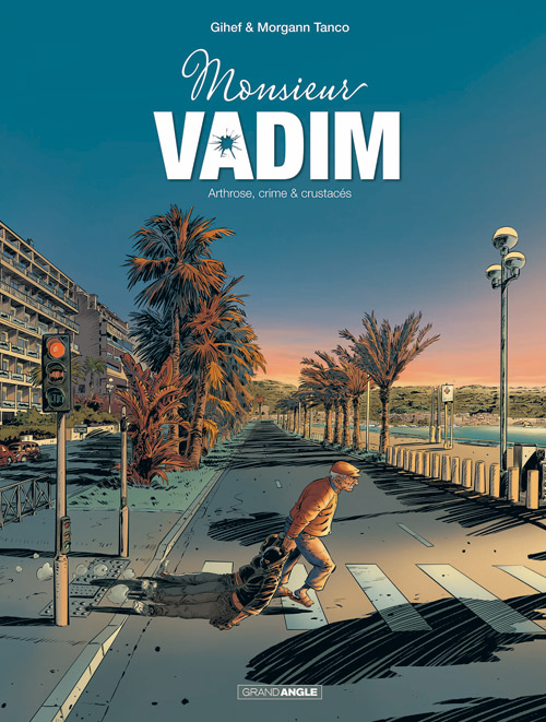 Monsieur Vadim T1 : Arthrose, crime et crustacés ! (0), bd chez Bamboo de Gihef, Tanco, Cerise