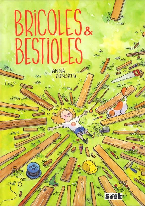 Bricoles et bestioles, bd chez Vide Cocagne de Conzatti
