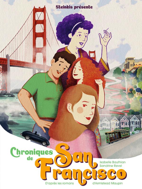 Chroniques de San Francisco T1, bd chez Steinkis de Bauthian, Revel
