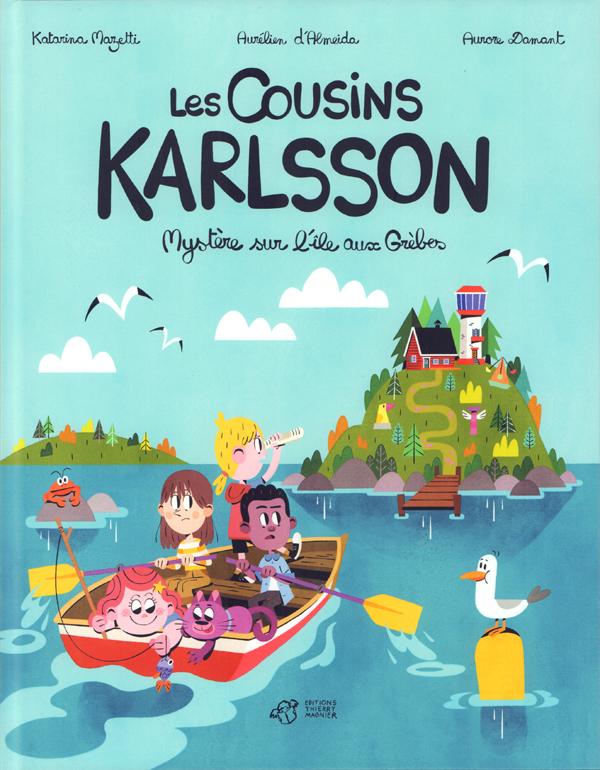 Les Cousins Karlsson, bd chez Thierry Magnier de Mazetti, d'Almeida, Damant