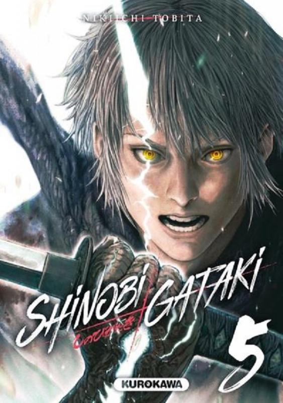 Shinobi gataki T5, manga chez Kurokawa de Tobita