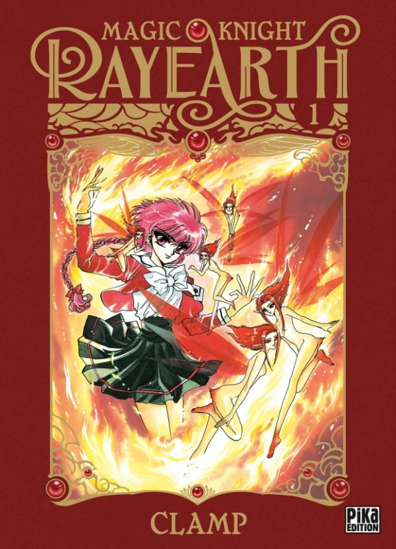 Magic knight rayearth T1, manga chez Pika de Clamp