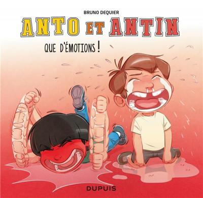 Anto et Antin T3 : Que d'émotions ! (0), bd chez Dupuis de Dequier