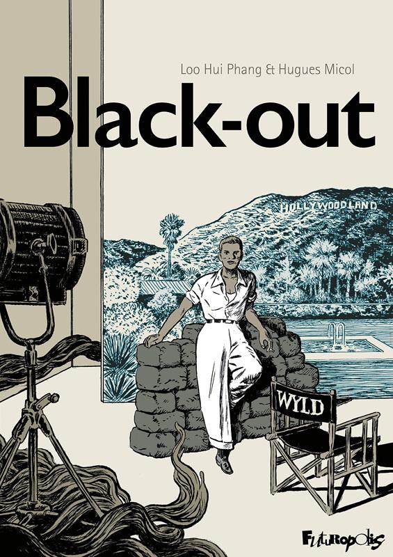 Black-out, bd chez Futuropolis de Hui Phang, Micol