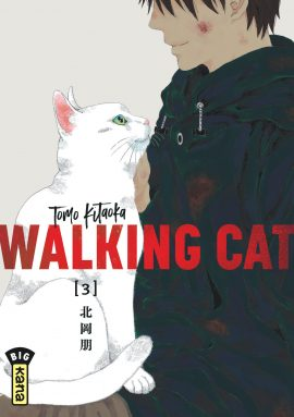 Walking cat T3, manga chez Kana de Kitaoka