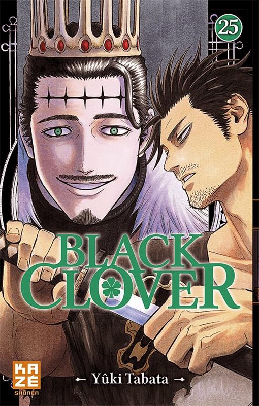 Black clover T25, manga chez Kazé manga de Tabata