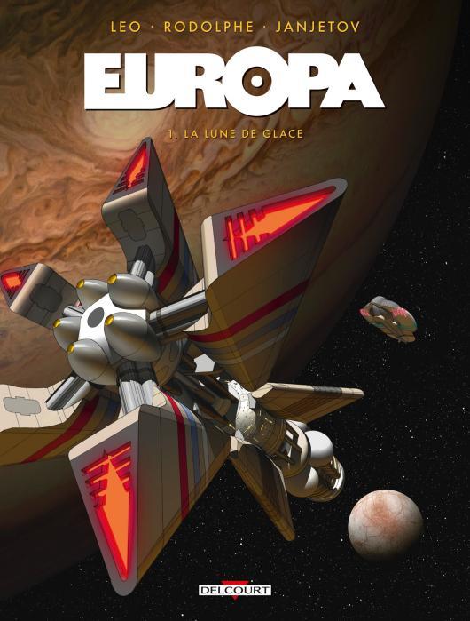Europa T1 : La lune de glace (0), bd chez Delcourt de Rodolphe, Léo, Janjetov